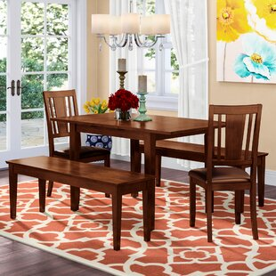Phoenixville 5 Piece Extendable Dining Set by Three Posts No Copoun