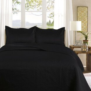 king size black bedspread wayfair co uk