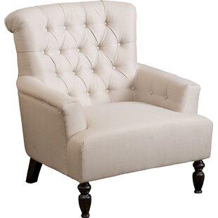 Verona Tufted Fabric Armchair by Alcott Hill