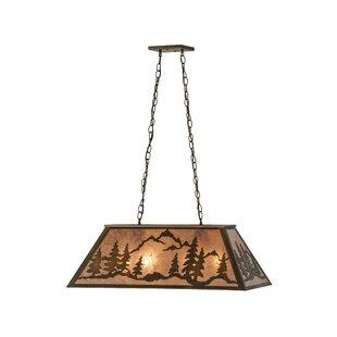 Meyda Tiffany Mountain Range 6-Light Pendant