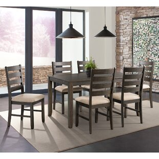 Rushton 7 Piece Solid Wood Dining Set