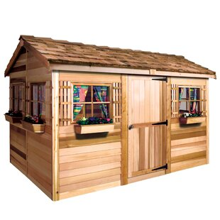Beachhouse Solid Wood Storage Shed By Cedarshed