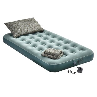 Peoples Inflatable 9 Air Mattress With Electric Pump