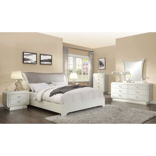 Hassan Sleigh Configurable Bedroom Set