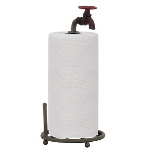 Secret Garden Free-Standing Paper Towel Holder