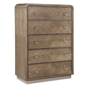 Waterfall 5 Drawer Chest