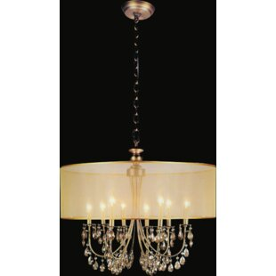 CWI Lighting 8-Light LED Chandelier