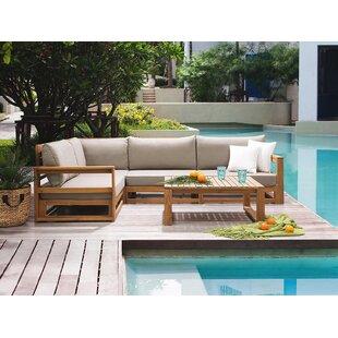 Marek 4 Seater Corner Sofa Set By Sol 72 Outdoor