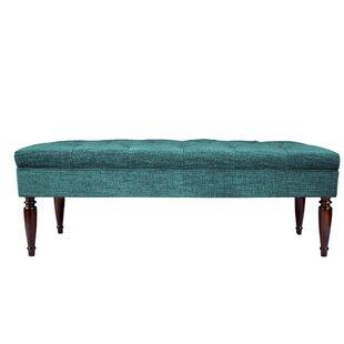 Cadence Diamond Upholstered Bench by Alcott Hill