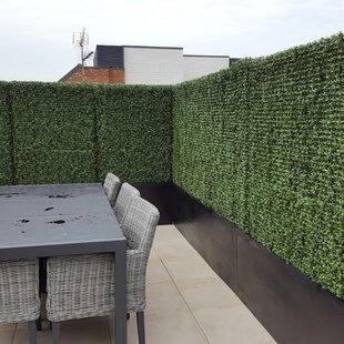 1//5//10x Artificial Plant Walls Foliage Hedge Grass Mat Greenery Panels Fence HOT