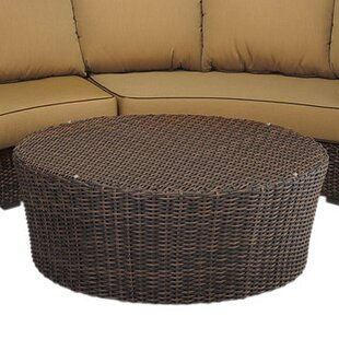 Montecito Wicker/Rattan Side Table by Sunset West