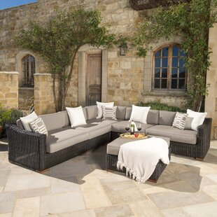 Monroeville 6 piece Sunbrella Sectional Set with Cushions