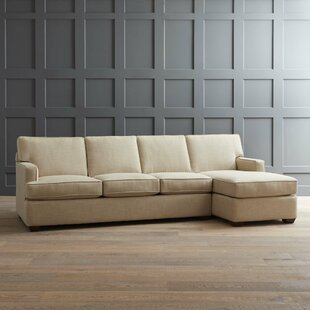 Shop Johnnie Sectional by AllModern Custom Upholstery