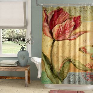 Loretta Tulip Single Shower Curtain