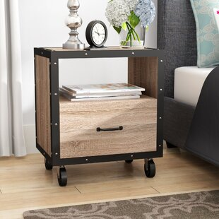 America 1 Drawer Nightstand