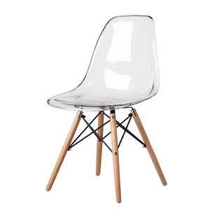 Mikesell Mid-Century Dining Chair Wrought Studio