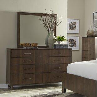 Wrought Studio King 8 Drawer Double Dresser ..