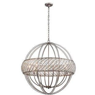 House of Hampton Boylan 8-Light Globe Chandelier