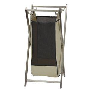 Rebrilliant Stainless Steel Folding Frame Triple Laundry Sorter