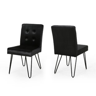 Poteet Upholstered Dining Chair (Set of 2..