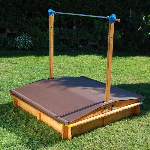 Quadratischer Sandkasten 140 cm x 140 cm   Kinderzimmer > Spielzeuge   Massivholz   Home Loft Concept