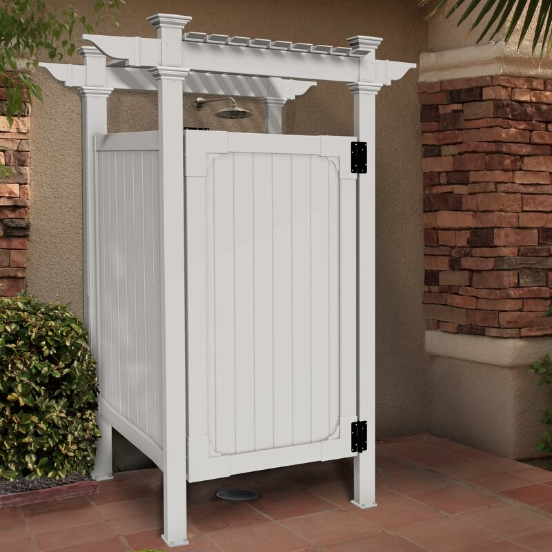 Zippity Outdoor Products Free Standing Outdoor Shower Reviews