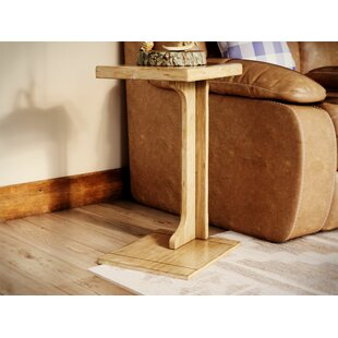 Affordable Price Bark Ranch End Table By Loon Peak
