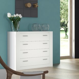 Orren Ellis Vincent 4 Drawer Dresser