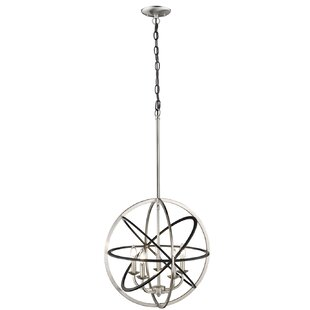 Wrought Studio Rune 5-Light Globe Chandelier