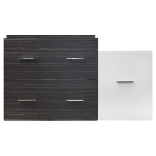 Xena Wall Mount Plywood-Melamine 37 Single Bathroom Vanity Base by American Imaginations