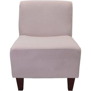 Ebern Designs Adamski Armless Slipper Chair
