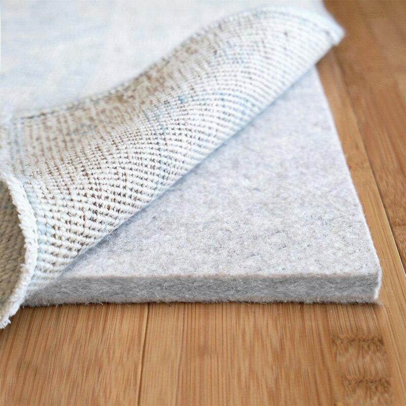 Non Bunching Cushioning Rug Pad