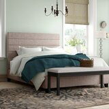 Cassville King Upholstered Standard Bed by Three Posts