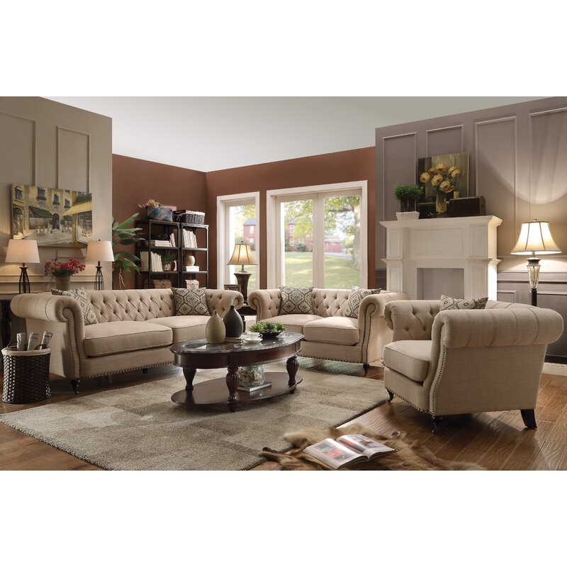 Birch Lane™ Heritage Calila Configurable Living Room Set & Reviews ...