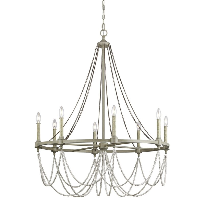 Birch Lane Ved 8 Light Candle Style Empire Chandelier Reviews Wayfair