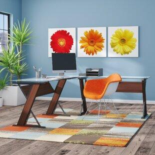 Caison L-Shape Credenza desk