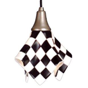 Meyda Tiffany Metro Fusion Grand Prix Handkerchief 1-Light Novelty Pendant