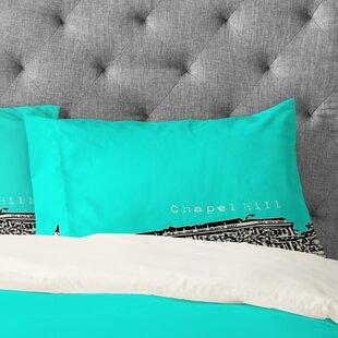 Bird Ave Chapel Hill Pillowcase