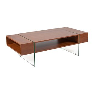 Tobias Wood Grain Finish Rectangular Coffee Table