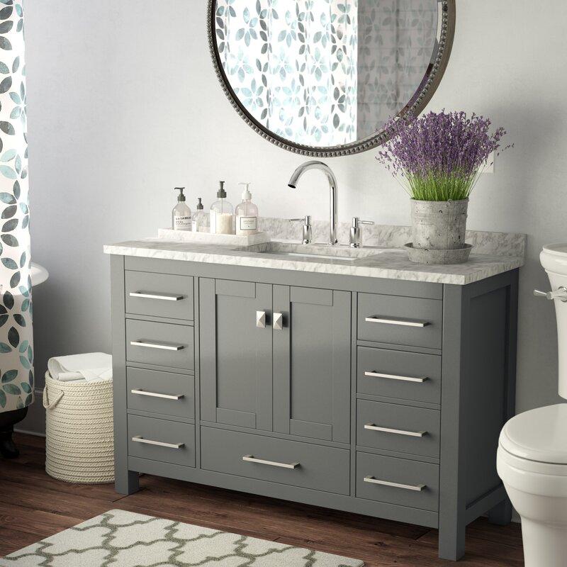 Excellent Khadijah 48 Single Bathroom Vanity Set Download Free Architecture Designs Ferenbritishbridgeorg