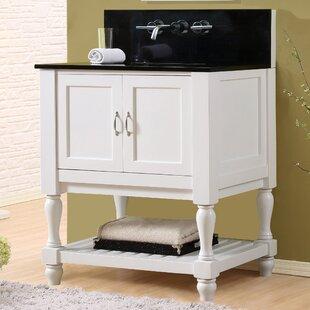 Mission Turnleg Spa Premium 32 Single Bathroom Vanity Set by Direct Vanity Sink