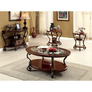 Darby Home Co Voorhees 4 Piece Coffee Table Set