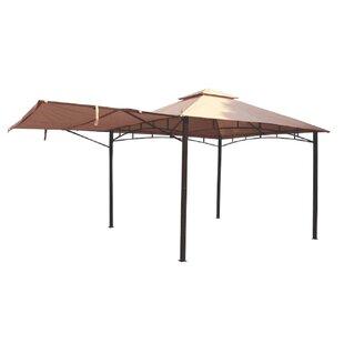 Hornbeck 3m X 3m Steel Patio Gazebo By Sol 72 Outdoor