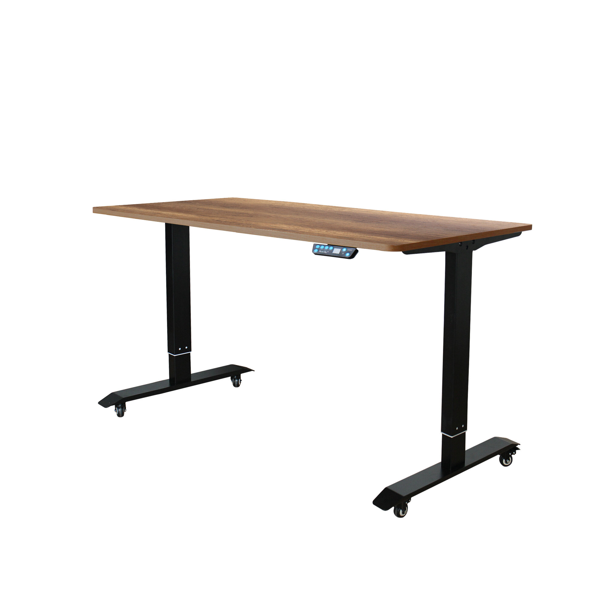 Symple Stuff Mollie Ergonomic Height Adjustable Standing Desk Wayfair