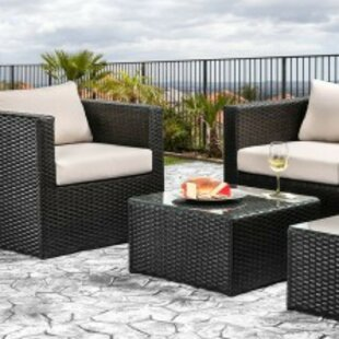 Anadarko Patio Sofa with Cushions