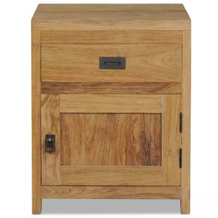 Demars 1 Drawer Bedside Table By Natur Pur