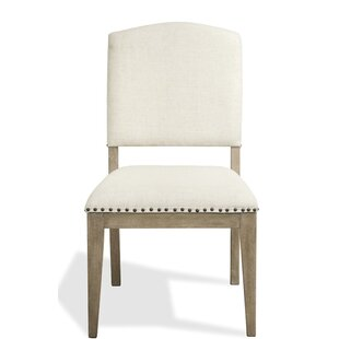 Handy Upholstered Dining Chair (Set of 2) Gracie Oaks