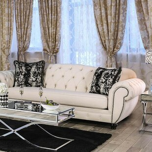 Shop Samir Chesterfield Sofa by Astoria Grand