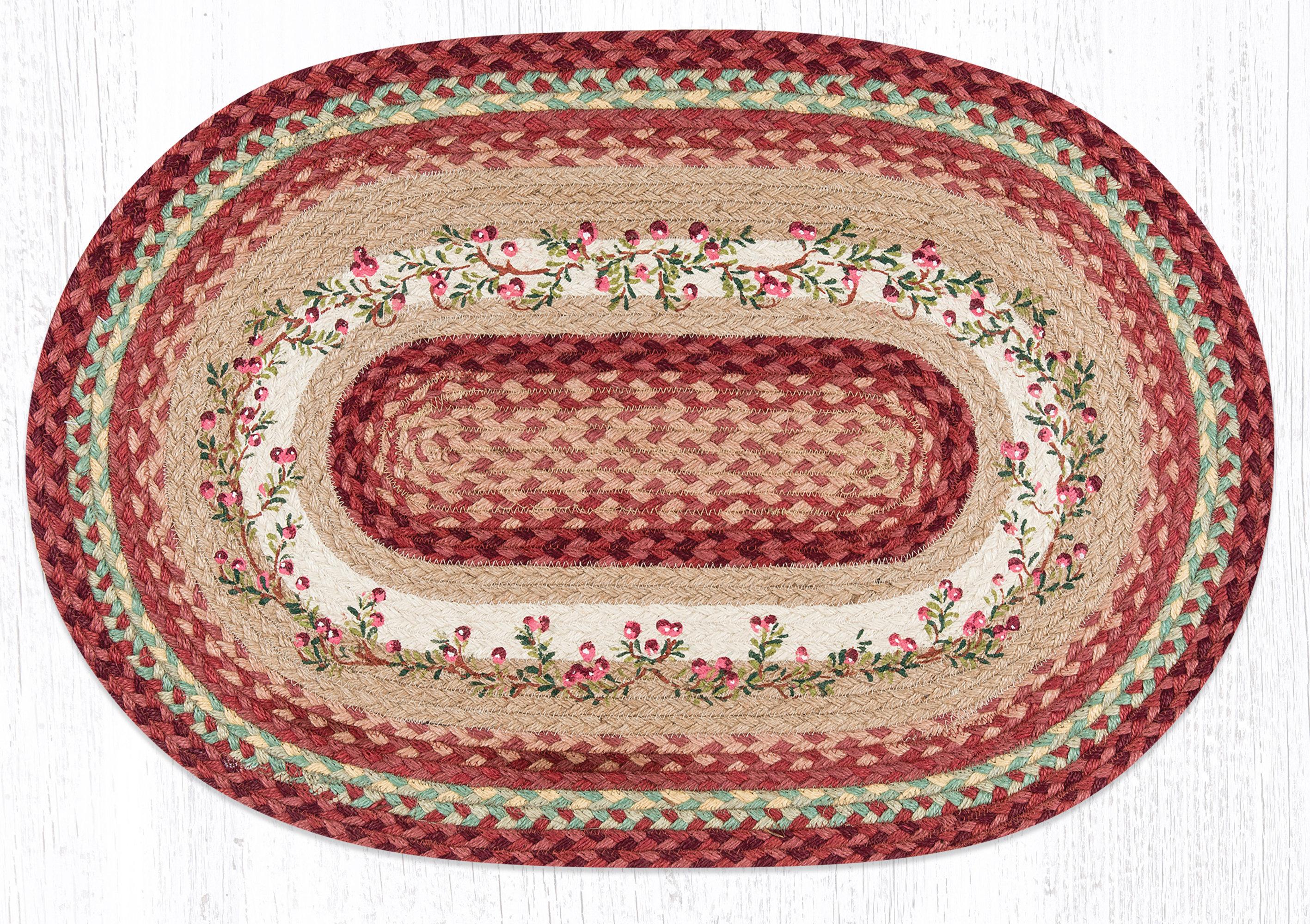 Earthrugs Cranberries Printed Area Rug Wayfair