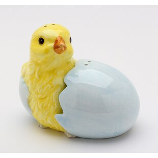 Chick and Egg Shell Salt & Pepper Shaker
